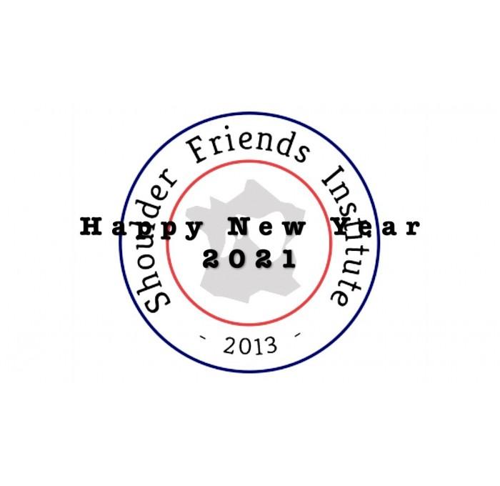Les voeux 2021 de toute l'équipe de Shoulder Friends Institute